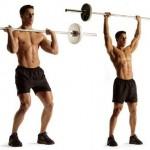 Упражнения на противоположные группы мышц